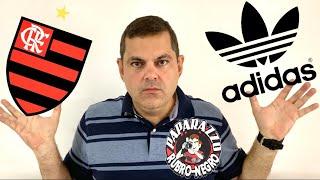 Não existe esse interesse de rescisão da Adidas com o Flamengo! Precisamos que Landim apareça!