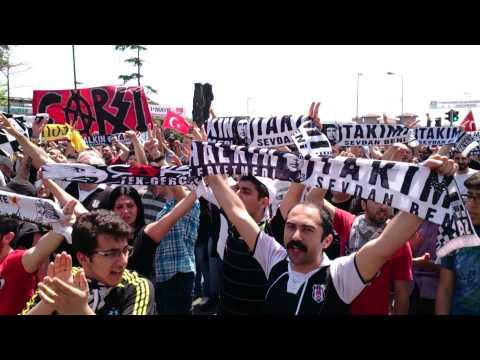 1 Mayıs 2013 Beşiktaş -1 Mayıs Marşı HALKIN TAKIMI