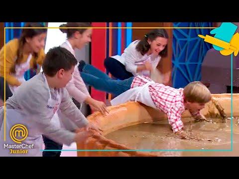¡¡UNA PISCINA DE CHOCOLATE GIGANTE!! | MasterChef Junior 7
