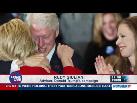 The Howie Carr Show | Mayor Rudy Giuliani on Hillary