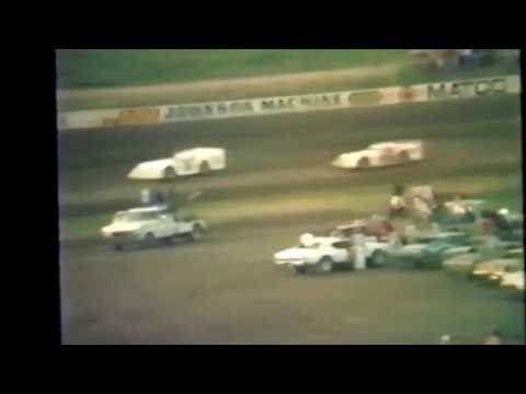 1985 races at Black Hills Speedway #34 late model heat races
