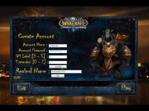 How to create a World of Warcraft Private Server [3 1 3] With Darkened  Linux Easy Installer