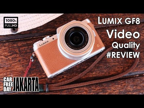 #REVIEW Lumix GF8 Video Quality (CAR FREE DAY - JAKARTA) VERY COOL