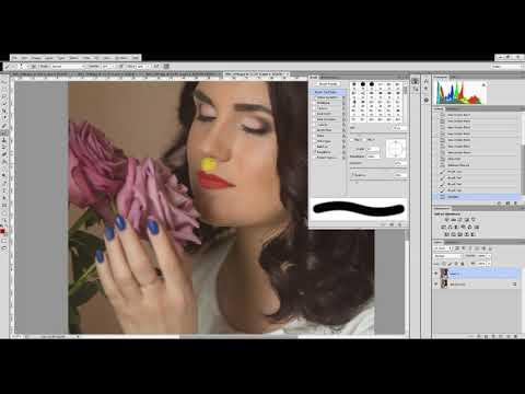 Как изменить цвет губ в фотошопе? (Photoshop CC)