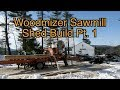 Making a Saw Mill Shed Pt. 1