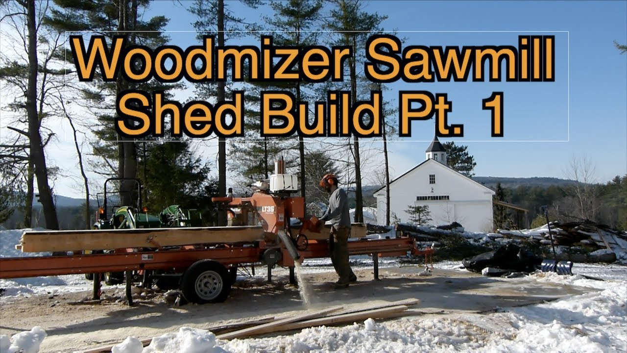 Making a Saw Mill Shed Pt  1