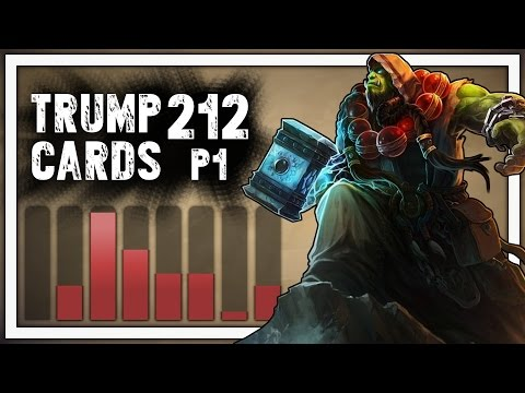 Hearthstone: Trump Cards - 212 - Part 1: Super Premium Tank (Shaman Arena)