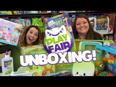 UNBOXING AN EPIC PLAY FAIR TOY BOX!!!