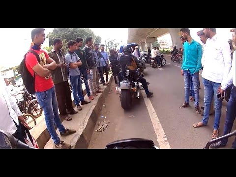 SUPERBIKES GO NUTS IN NASIK | CROWD GATHERED TO SEE OUR BIKES AT MUMBAINAKA