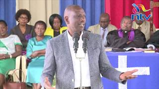 DP William Ruto consoles his aide's widow, gives advice on parenting