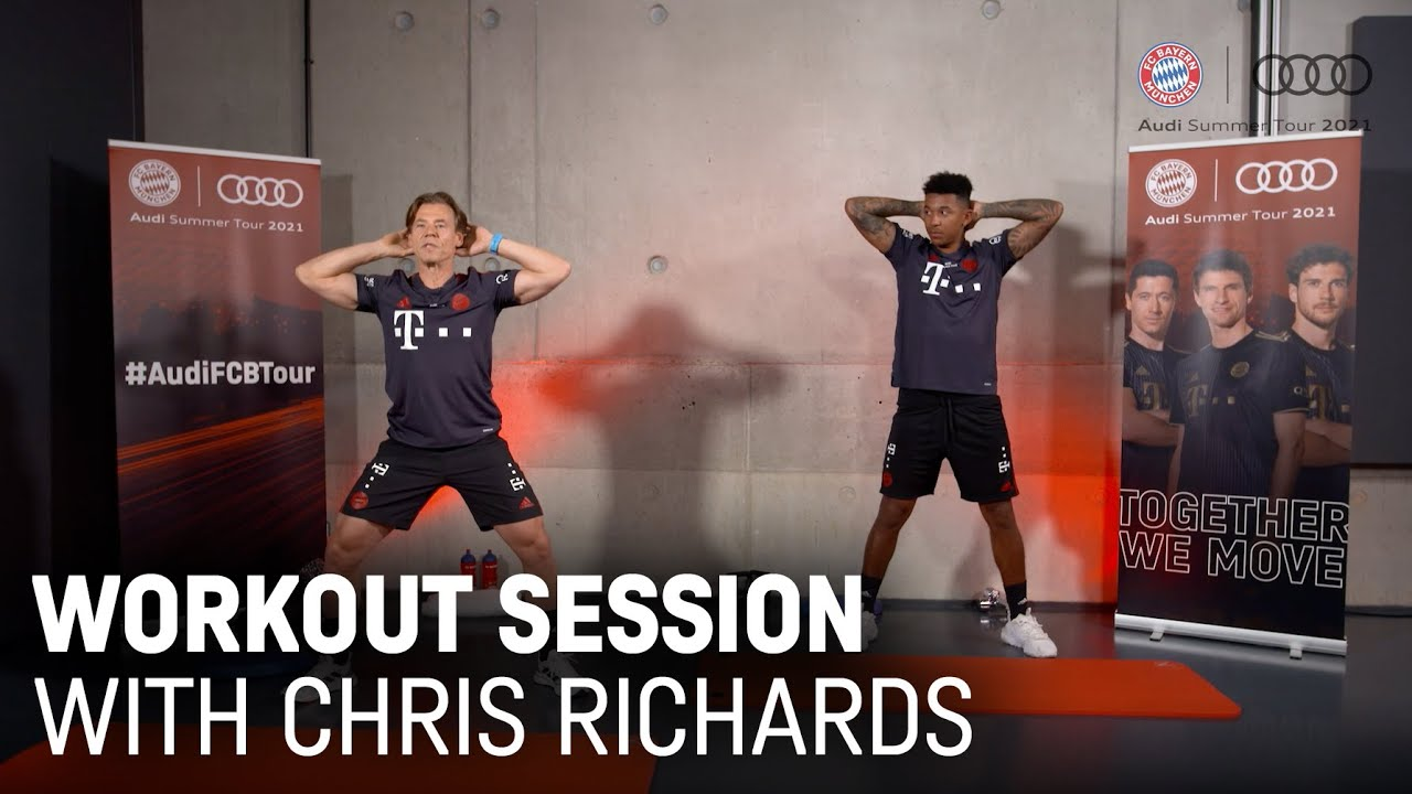 Workout Session with Chris Richards