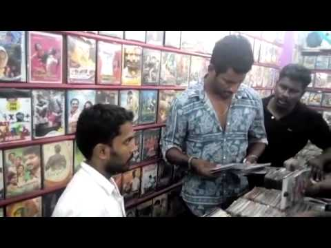 Vishal Fighting Poojai Piracy At Tiruppur