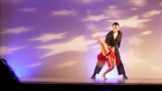 Marygrace & Sushi's Salsa Performance @ the 2009 Sexy & Sensual Latin Dance Festival