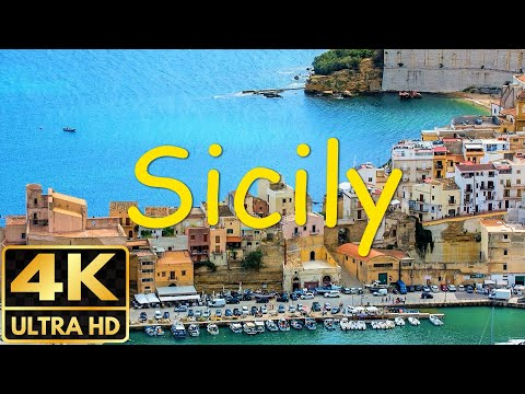 The Best Of Sicily In 8 Minutes | Sicily In 4K Cities, Beaches, Volcanoes, Lava,...