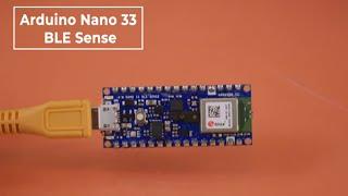 Arduino Nano 33 BLE Sense — плата с голосовым управлением, IMU, датчиком цвета и метеосенсором.