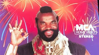 Mr. T. - Be Somebody Or Be Somebody's Fool  1984  | W/ New Edition