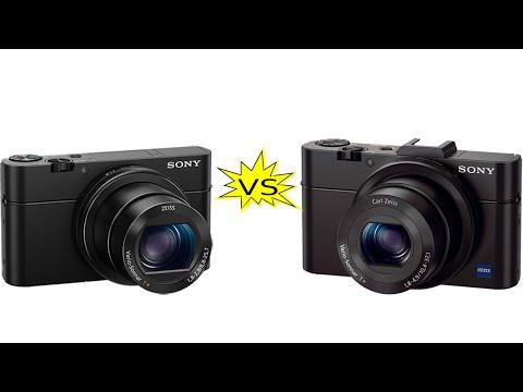 Sony RX100 II vs Sony RX100 III