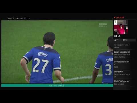 SC Bastia - Paris Saint-Germain [FIFA 16] | Ligue 1 2016-2017 (1ère Journée) | CPU Vs. CPU