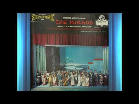The Mikado (Act 1)(1958)(G&S)--Pratt, D'Oyly Carte