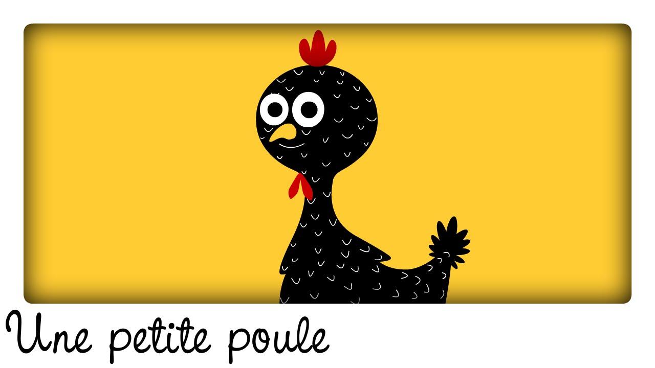 Une petite poule grise comptines et chansons classiques comptines maternelles pour b b - Une poule dessin ...