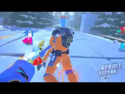 Sprint Vector Beta - MP Race - Amazing VR game
