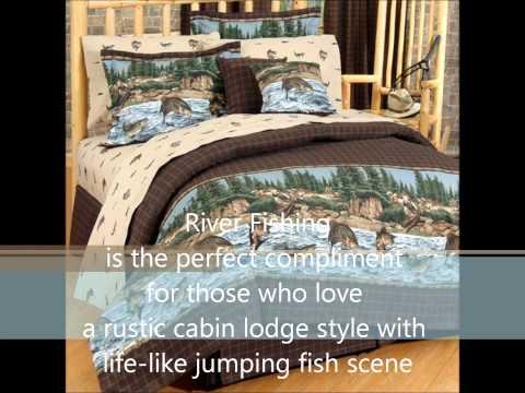 River Fishing Bedding