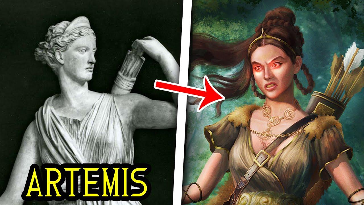 The Messed Up Origins of Artemis, Goddess of the Hunt   Mythology Explained - Jon Solo