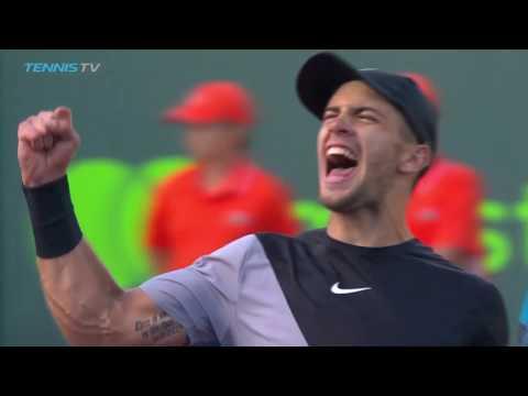 Borna Coric's Best Shots & Moments in 2018 ATP Season So Far