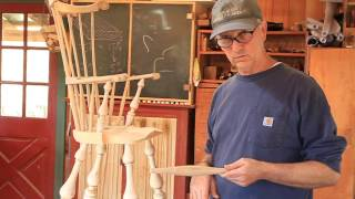 Mounting the Foot Rest on the Comb Back High Chair