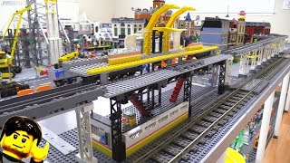 Elevated rail progress & your Mellemby LEGO roller coaster decision!
