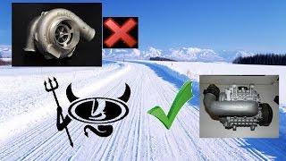 Механический нагнетатель #12.Почему зимой компрессор(supercharger) лучше чем турбо на ВАЗ 2112?