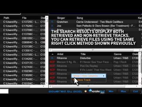 Karaoke Cloud Player: Karaoke Software, Feature Overview