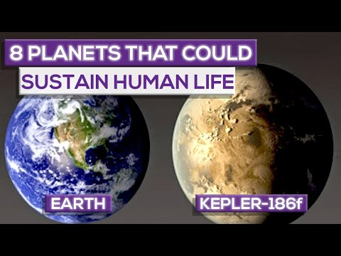 8 Planets That Can Sustain Human Life (2018)