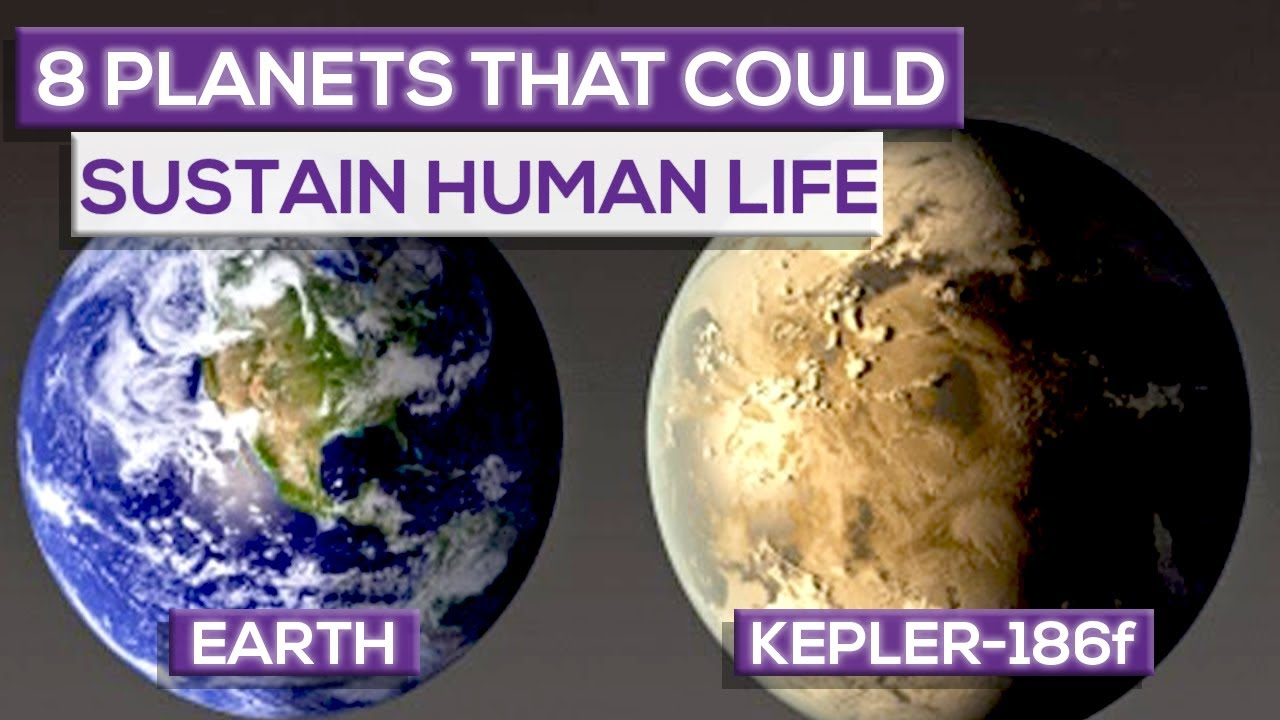 8 Planets That Can Sustain Human Life (2019) - YouTube