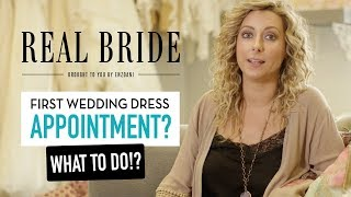 Real Bride by Enzoani - Tips & Advice for your First Bridal Wedding Dress Appointment