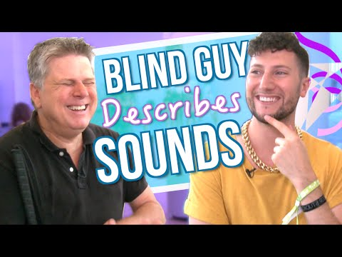 Can I Guess Sounds Described By A Blind Guy? ft. Tommy Edison