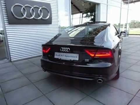 audi a7 3 0 tdi bi turbo 313pk quattro sound youtube. Black Bedroom Furniture Sets. Home Design Ideas