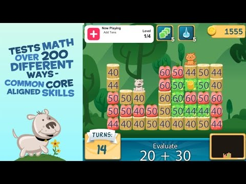 google playstore math smash animal rescue mathe lernspiel f r kinder. Black Bedroom Furniture Sets. Home Design Ideas