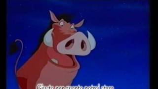 (Italian Subtitles) Stand by Me - Timon & Pumbaa