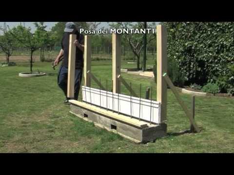 Muro Pivato   Fasi di posa in opera   YouTube