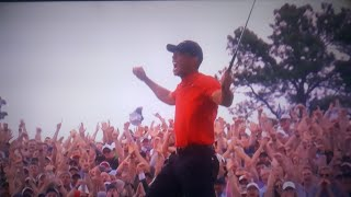 TIGER WOODS WINS THE 2019 MASTERS!!!!!!!!