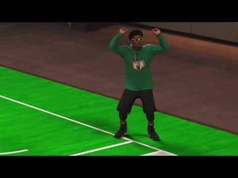 COMEUP TIMMY DANCE - NBA 2K17 (LIL UZI VERT - ALONE TIME)