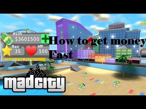 How To Get Money Fast In Roblox Mad City Youtube