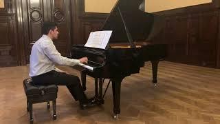 CARLOS FLORIT SERVETTI: Preludio para la mano derecha - Javier Villegas (piano)