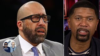 Jalen Rose: The Knicks did David Fizdale a favor by firing him | Jalen & Jacoby