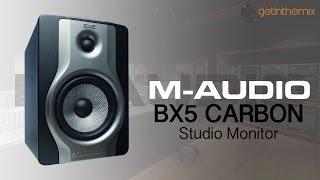 m audio bx5 carbon studio monitors