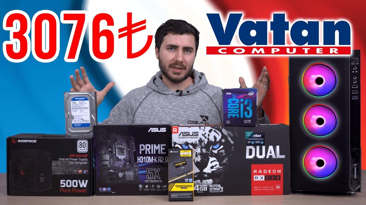 VATAN'DA 3.000 TL Satılan Oyun Bilgisayarını Alıp FPS TESTİ Yapıyoruz! (YENİ)