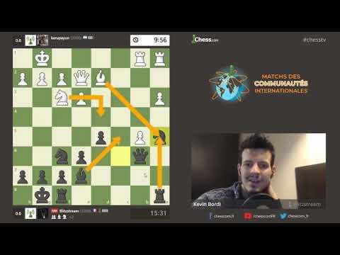 Match des communautés sur Chess.com - La Francophonie contre l'Hispanophonie