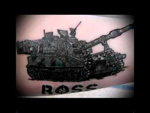 Армейская татуировка   фото на видео   примеры