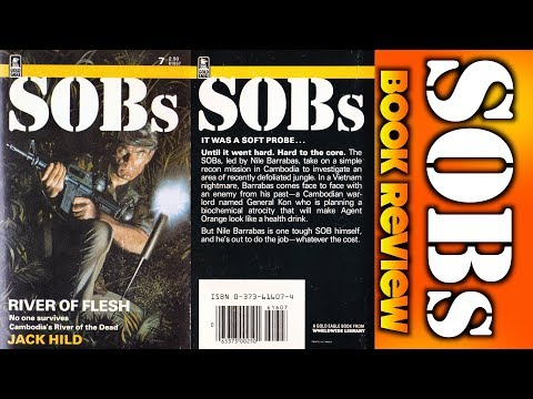 80's Book Review: SOBs #7: River of Flesh (1985)